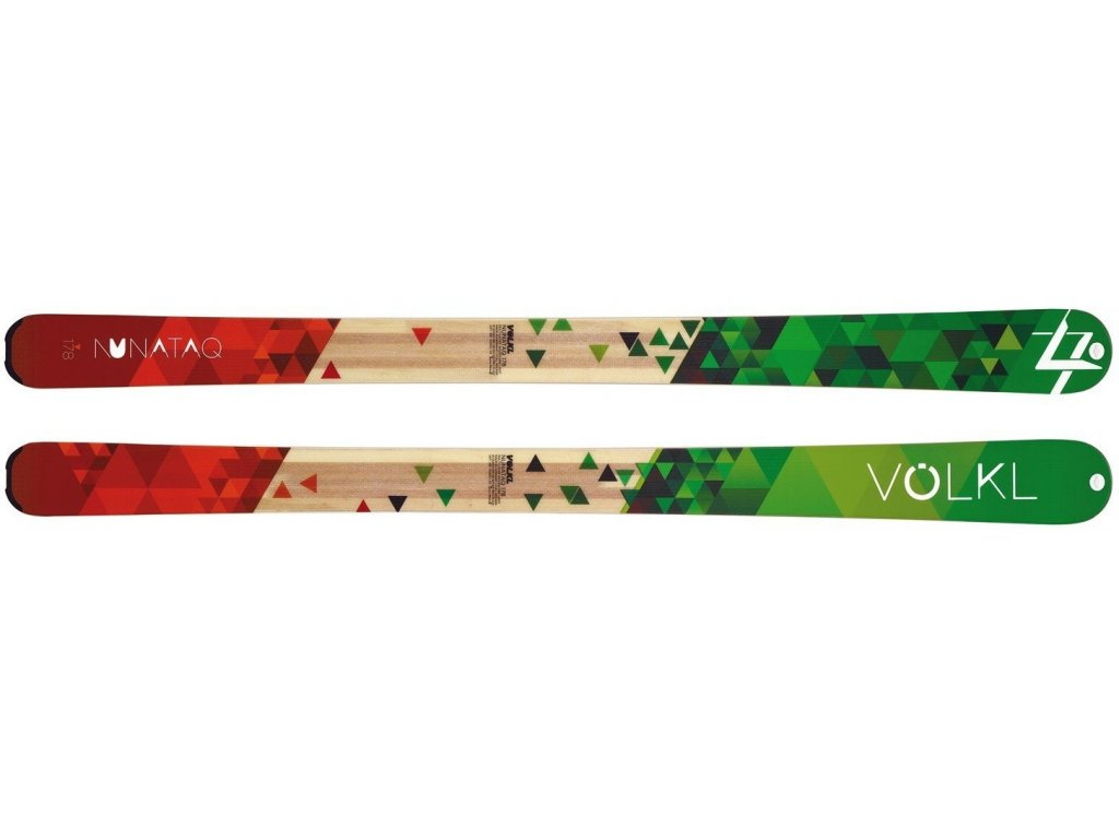 Volkl Nunataq 178cm 14/15 + pásy + Marker F12 S EPF (Délka 178)