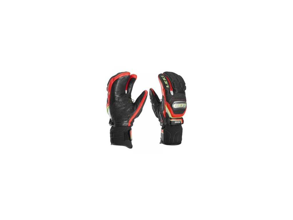 Leki Worldcup Race Titanium S Lobster 63480003 15/16  Black - Red - White - Yellow (Velikost 9,5, Barva Black/Red/Yellow)