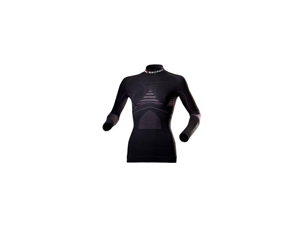 x bionic accumulator evo women shirt long sleeves turtle neck
