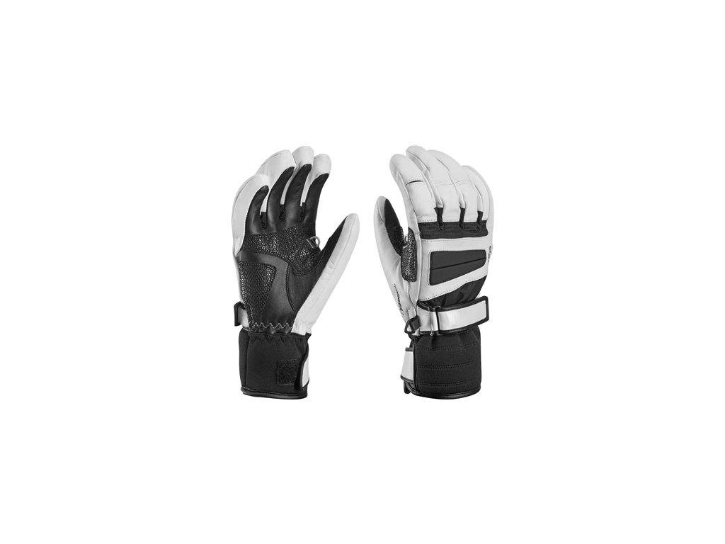Leki Griffin Pro Lady S 63480452 černá / bílá 15/16 (Velikost 8, Barva černá/bílá)