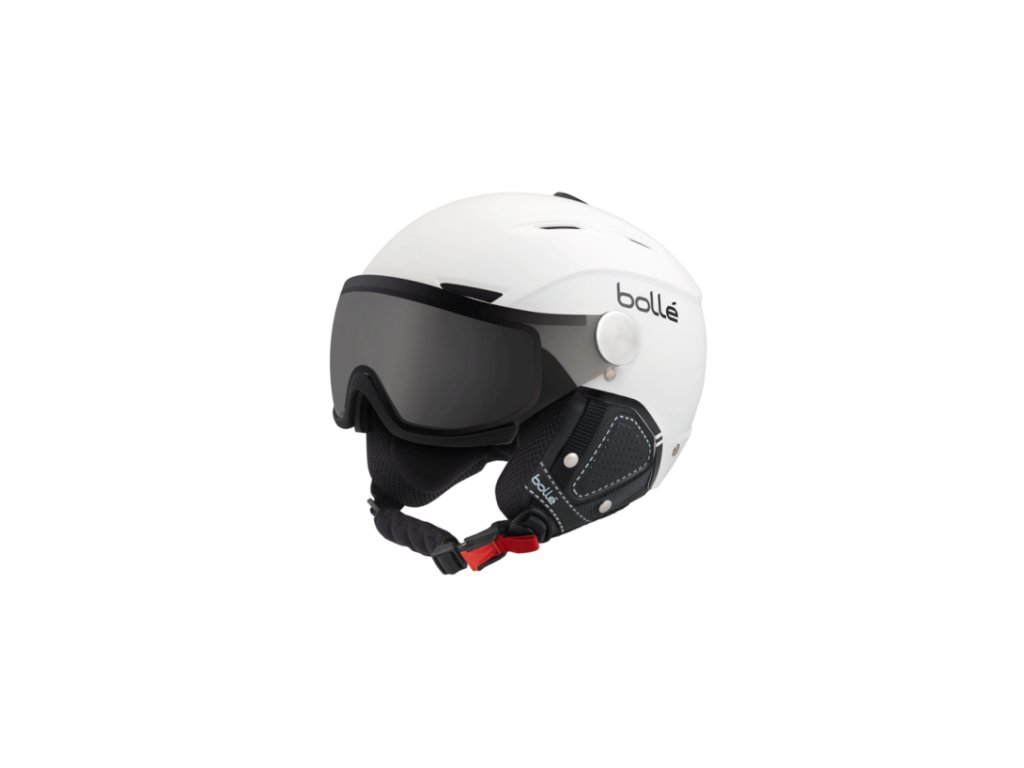 Bolle Backline Visor Premium - Modulator Soft White/Black 17/18 (Velikost 54-56 cm)