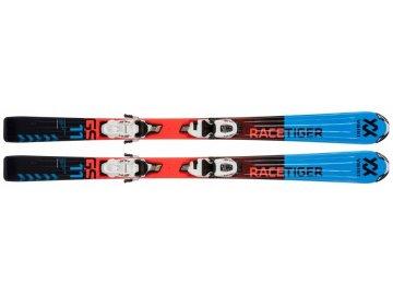 Volkl Racetiger Jr. Red 100-120cm + vMotion 4.5 17/18 (Délka 100)