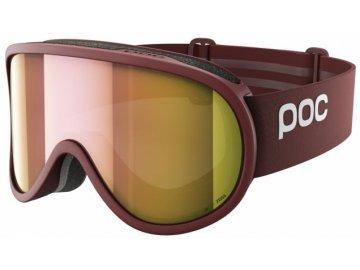 poc retina clarity ski mask lactose redspektris rose gold