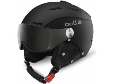 Bolle Backline Visor Soft Black/silver 16/17 (Velikost 59-61 cm, Barva Soft Black/silver)