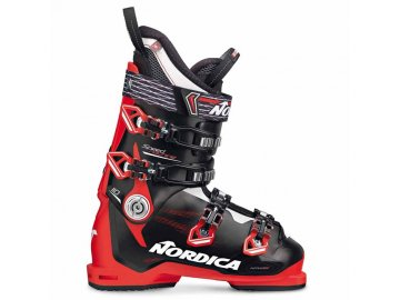 nordica speedmachine 110 ski boots 2017 black red white