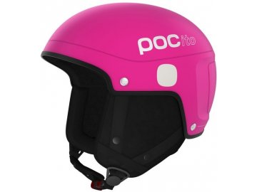 POCito Skull Light Fluo Pink kids 1