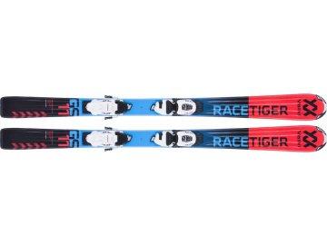 Völkl Racetiger JR Red 130-140CM + vMotion 7.0 17/18 (Délka 130)