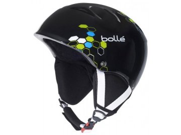Bolle B-kid - black 13/14 (Velikost 53-57 cm, Barva Shiny Black Geo)