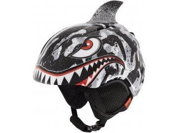 Giro Launch Plus - Black/Grey Tiger Shark