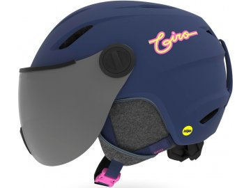 Giro Buzz MIPS - Mat Midnight/Neon Lights 20/21