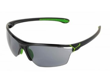 Cebe CINETIK Shiny Black Green / Zone Grey