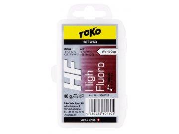 sjezdovy vosk toko hf hot wax d 1
