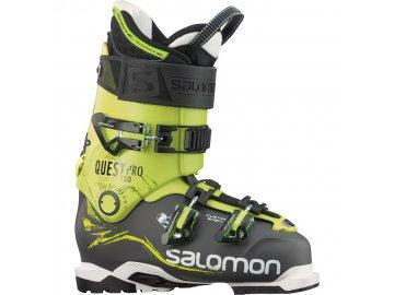 salomon quest pro 130 ski boots 2015 anthracite acid green