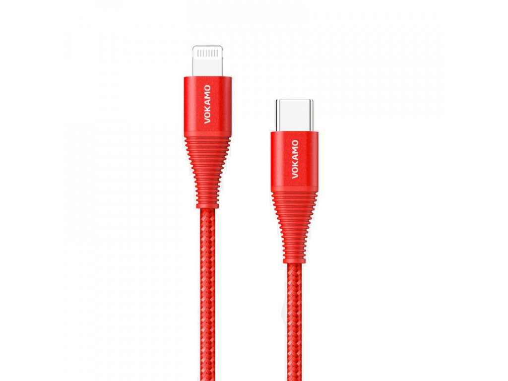 USB C lightning red