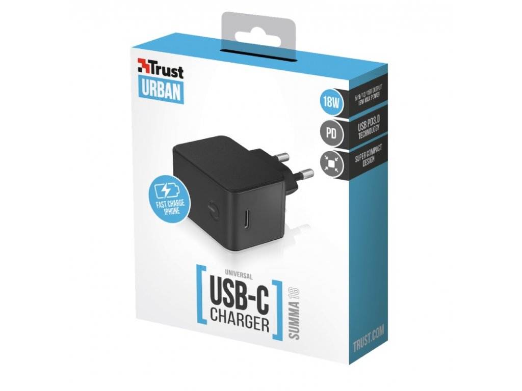 TRUST Summa18 PD3.0 USB-C Charger