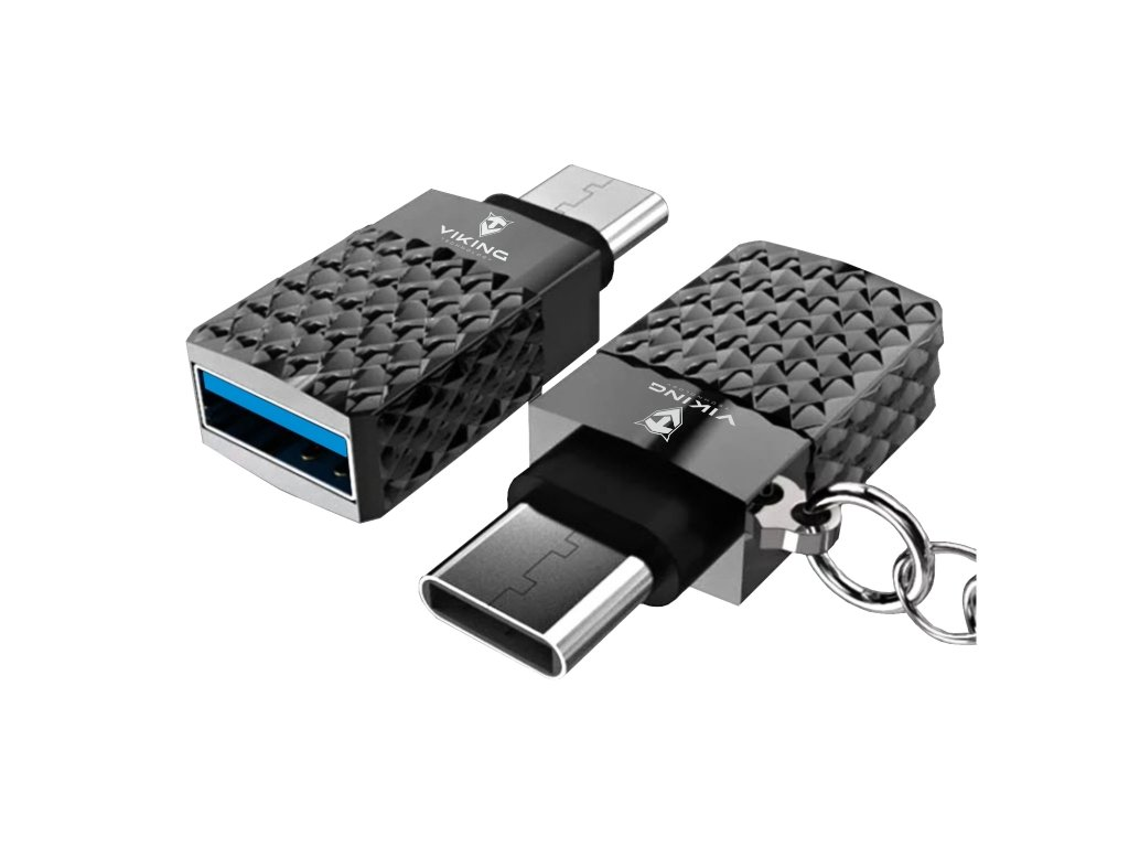 VIKING REDUKCE USB-C 3.2 Gen1 TO USB-A 3.2 Gen1 ANANAS stříbrná