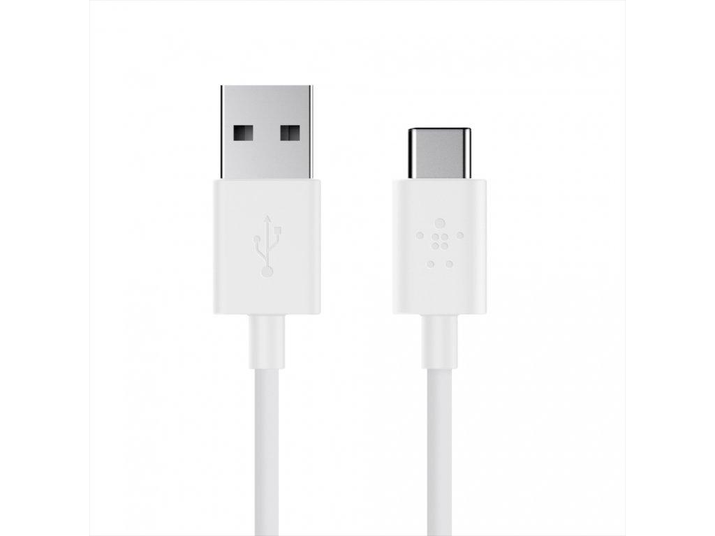 BELKIN MIXIT UP USB-A 2.0/USB-C, 3A, bílý
