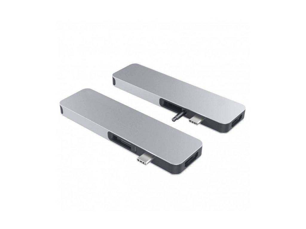 HyperDrive SOLO USB-C Hub - Silver