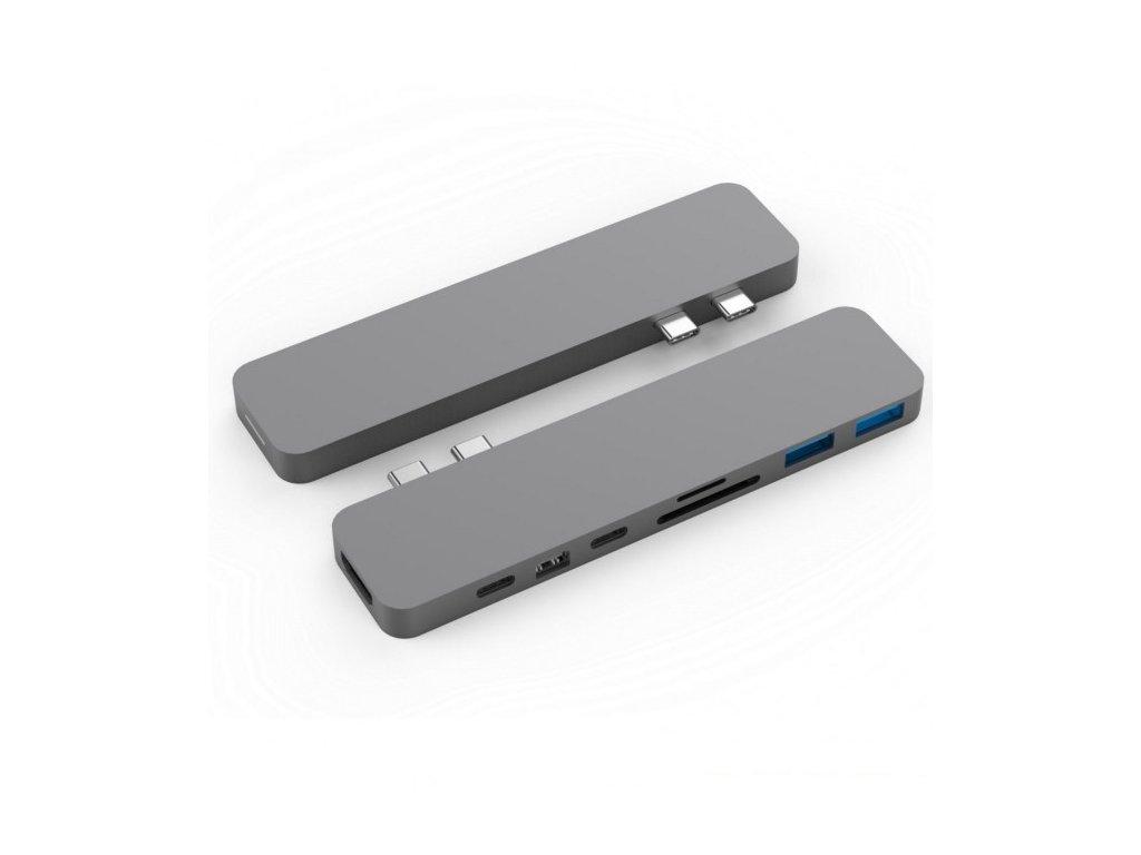 HyperDrive PRO USB-C Hub pro MacBook Pro - Gray