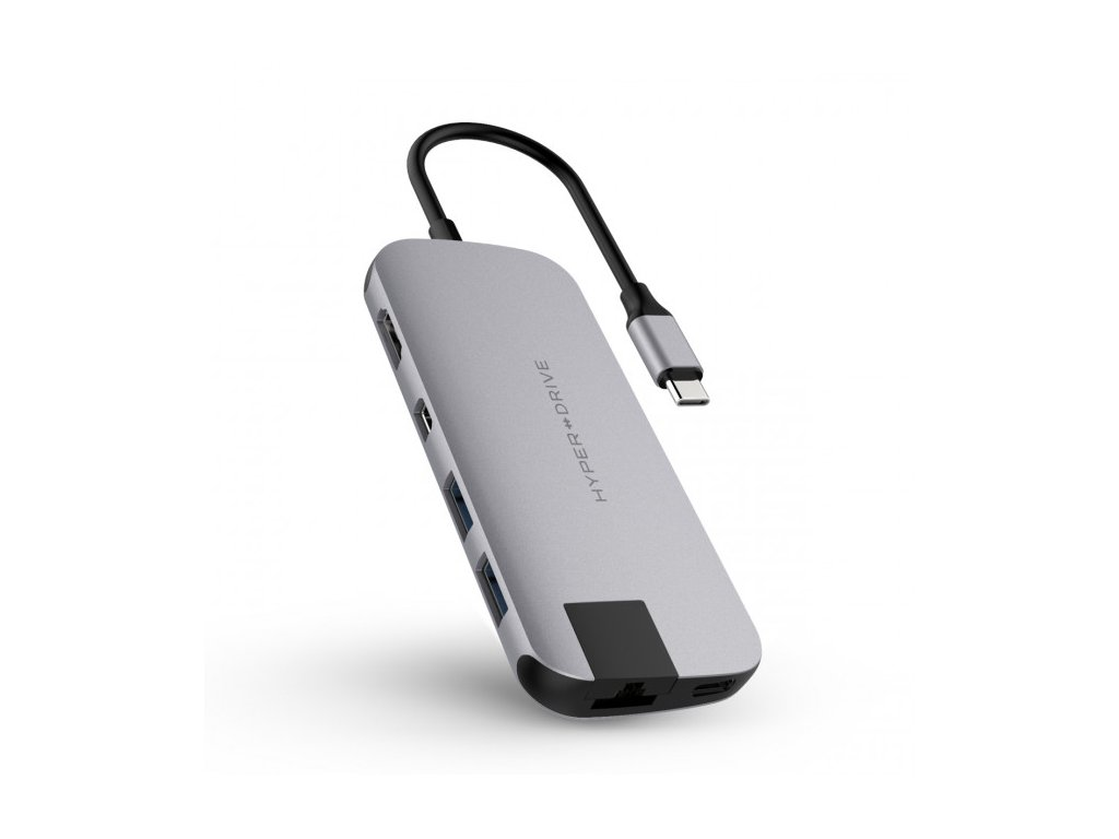 HyperDrive SLIM USB-C Hub - Space Gray