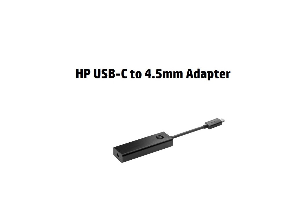 HP USB-C to 4.5mm Adapter