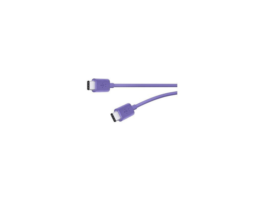 Belkin kabel MIXIT USB-C 2.0 to USB C, 1,8m - fialový