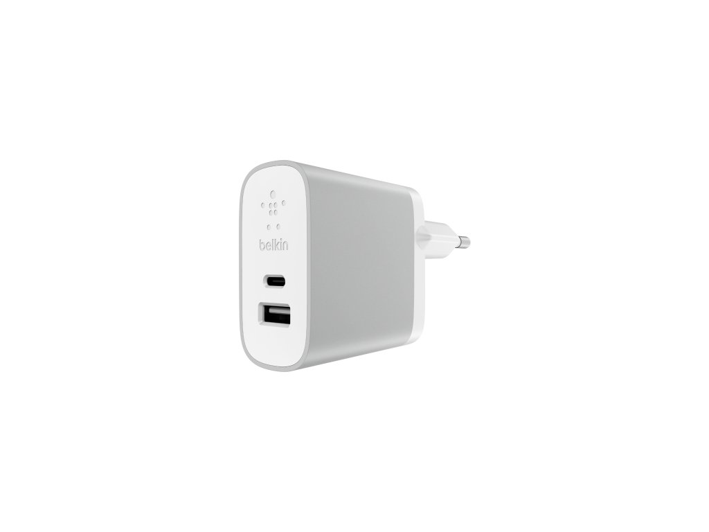BELKIN Dual Home Charger USB-C(15W), USB-A(12W)