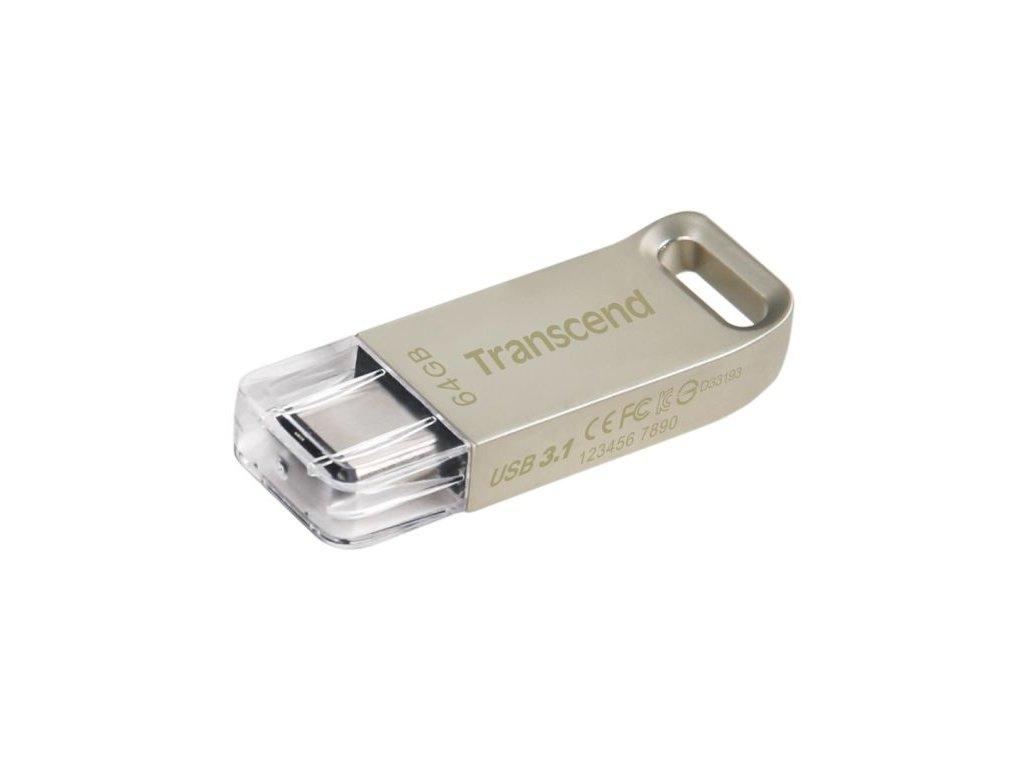 Transcend 64GB JetFlash 850S, USB-C (3.2 Gen 1) flash disk