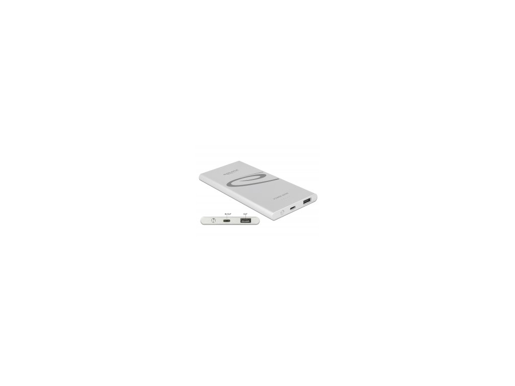 Delock Power Bank 5000 mAh 1 x USB Type-A, 1 x USB Type-C