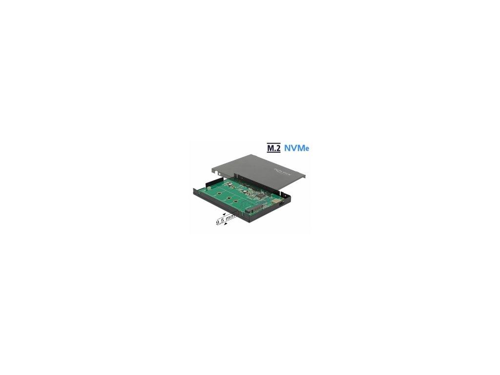 Delock Externí skříň M.2 NVMe PCIe SSD s  USB 3.2 Gen 2 USB Type-C