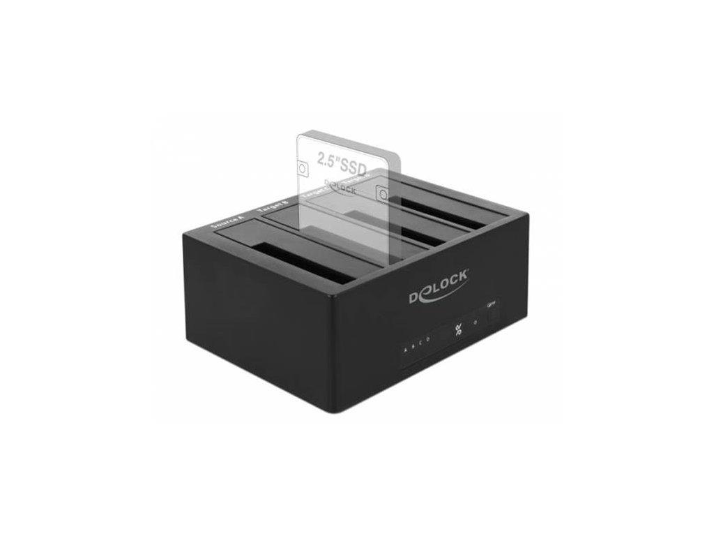 Delock USB Type-C Dokovací stanice pro 4 x SATA HDD / SSD