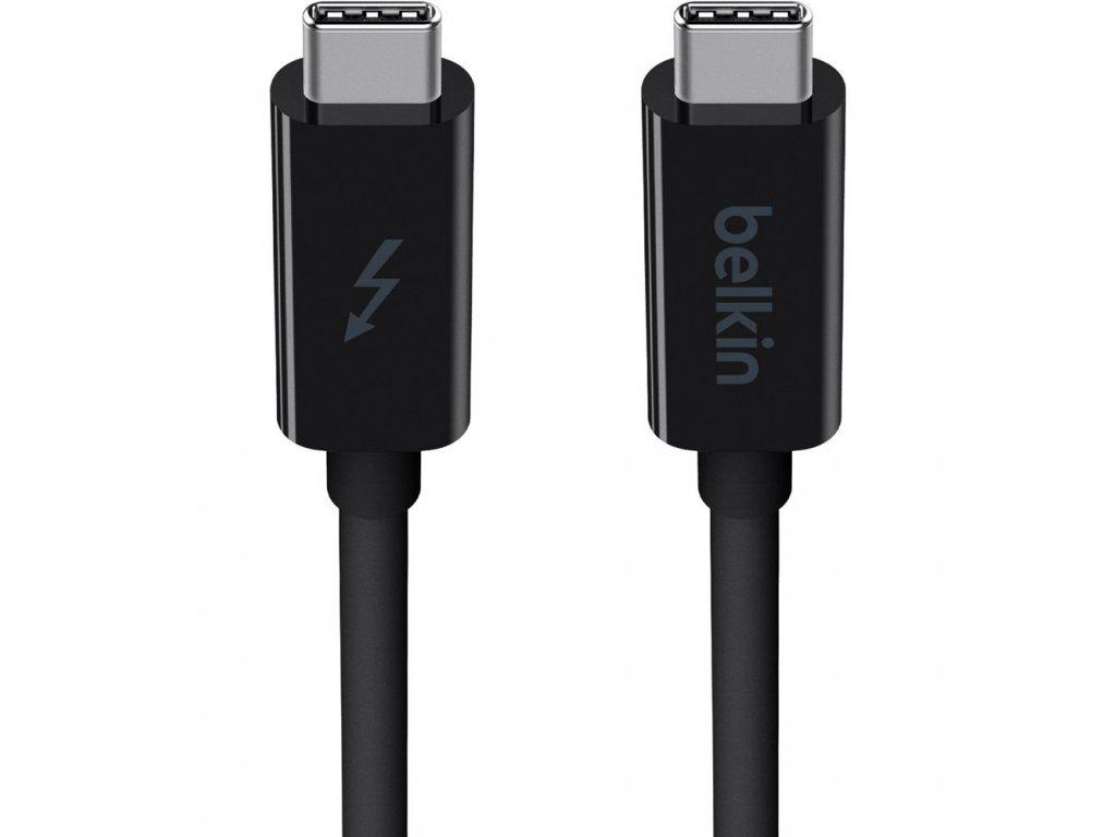 BELKIN USB-C to USB-C Thunderbolt 3, 1 m, 4K