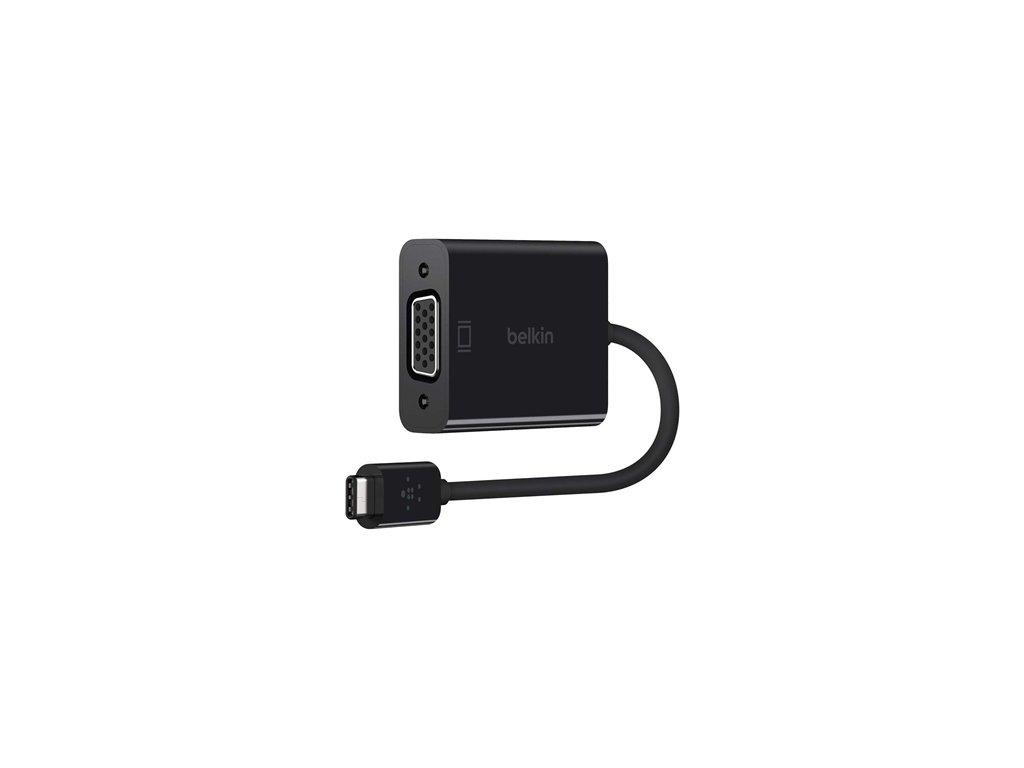 BELKIN VGA - USB-C adaptér, černý