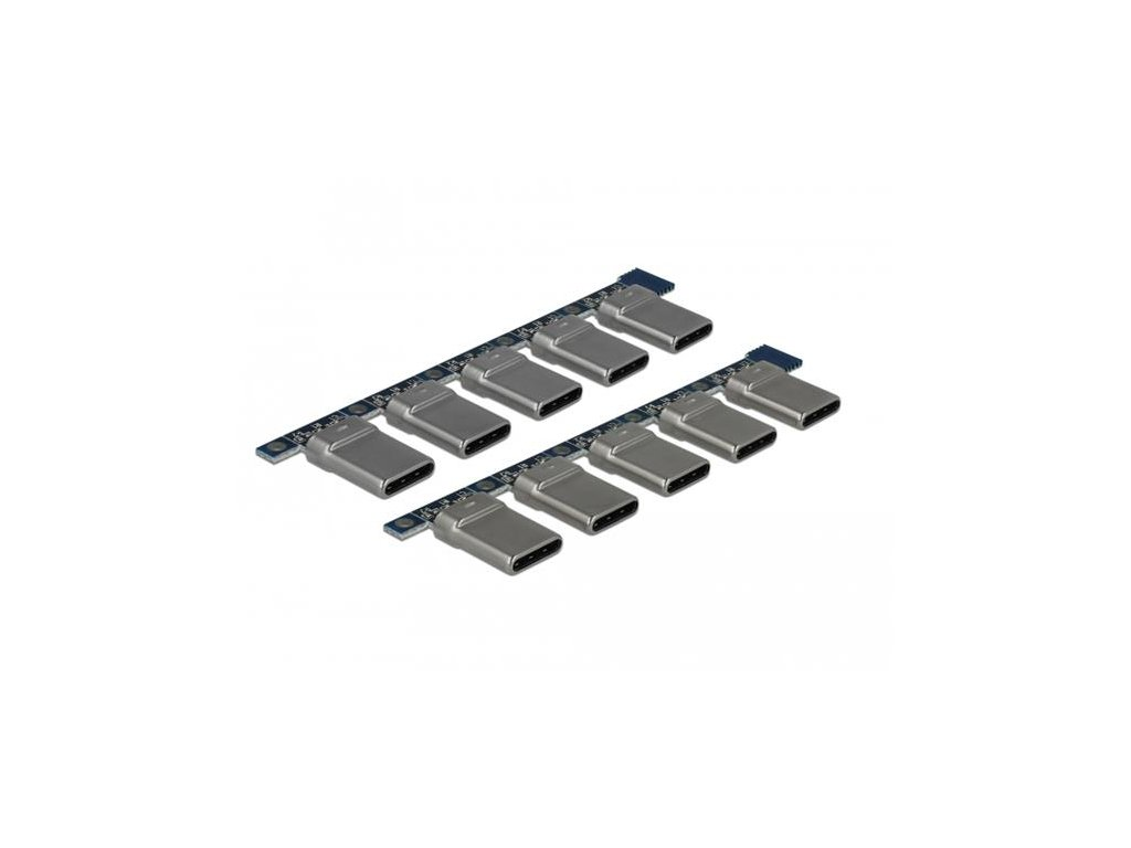 Delock Konektor USB 2.0 Typ-C samec 10 kusů