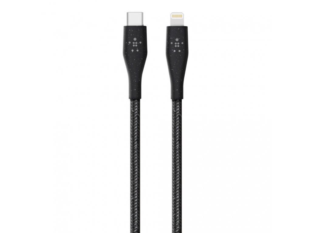 BELKIN DuraTek Plus Lightning na USB-C 1,2m, černý