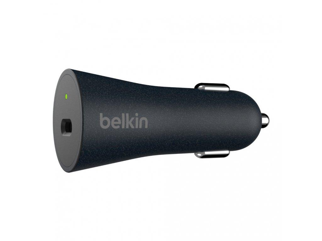BELKIN QuickCharge 4+27W USB-C autonabíječka + USB-C kabel
