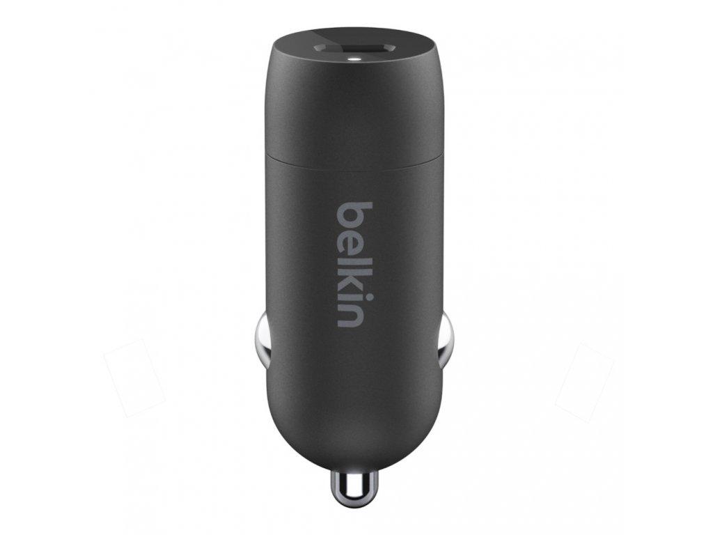 BELKIN 18W autonabíječka + USB-C -  Lightning kabel