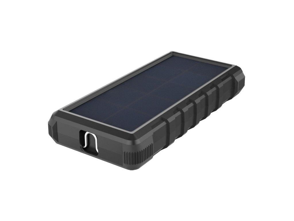 Solární powerbanka VIKING W24 24000mAh, Outdoorová s IP67, Podpora rychlonabíjení QC3.0, USB-C,