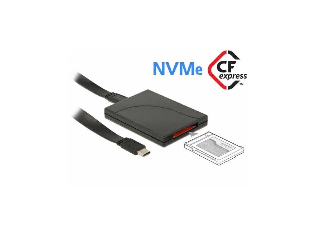 Delock USB Type-C čtečka karet pro paměťové karty CFexpress