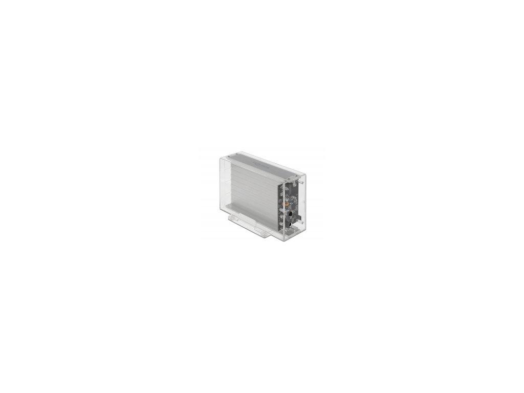 """Delock Externí pouzdro pro HDD SATA 3.5"""" s rozhraním SuperSpeed USB 10 Gbps (USB 3.2 Gen 2)"""