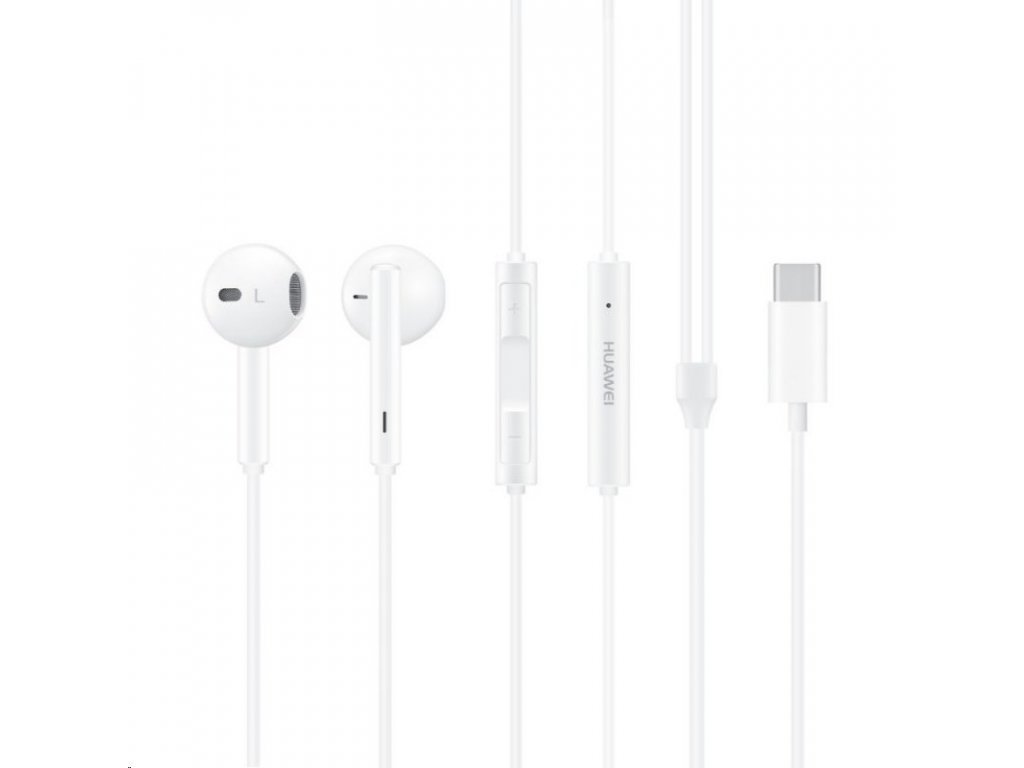 Huawei In-ear sluchátka CM33, USB-C, White