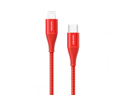 USB C lightning red
