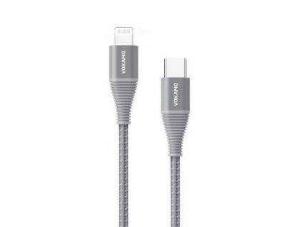USB C lightning gray