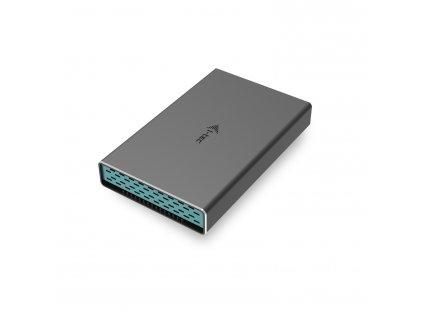 """i-tec USB-C 2.5"""" SATA HDD Metal External case"""
