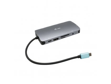 i-tec USB-C Metal Nano Dock HDMI/VGA with LAN + Power Delivery 100 W