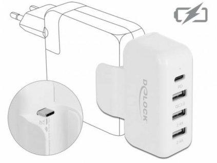 Delock Adaptér pro napájecí zdroj Apple s rozhraními PD a QC 3.0