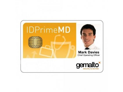 hybridní čipová karta Gemalto IDPrime MD 841 Mifare 4K