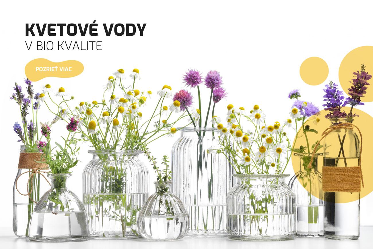 Kvetové vody bio kvalita