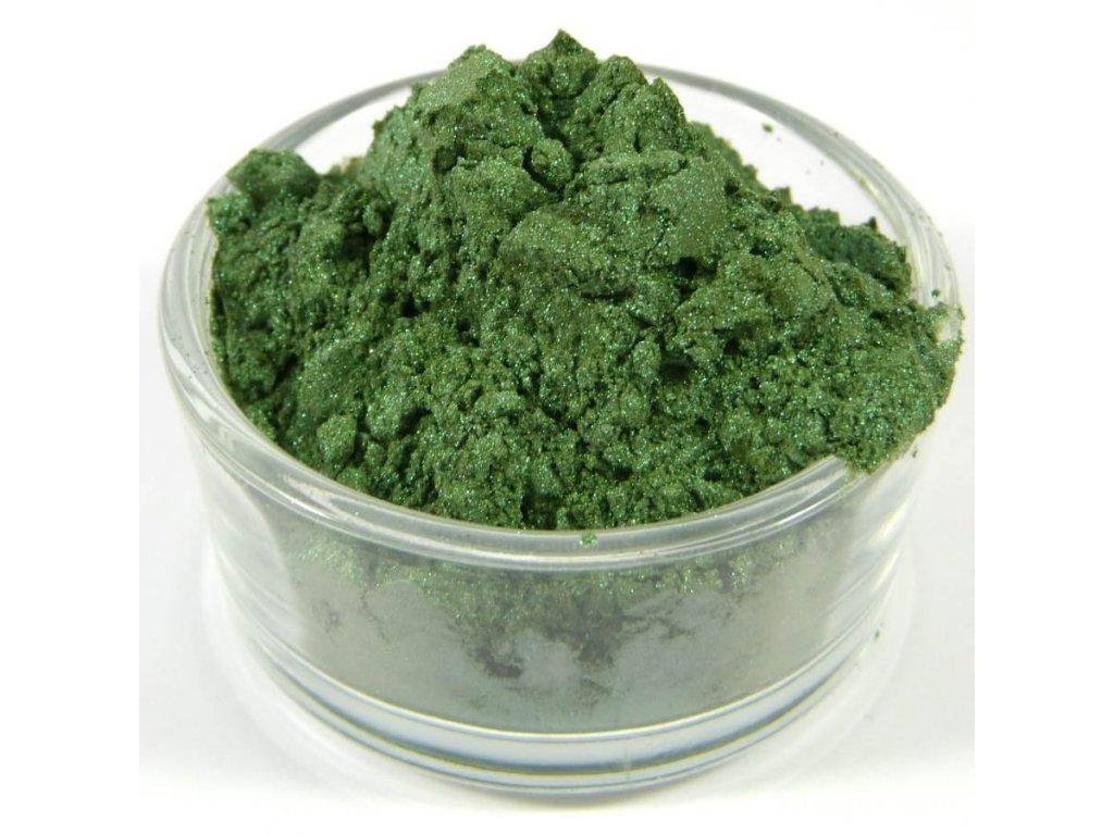 MICA - Smaragdovo zelená 10 g