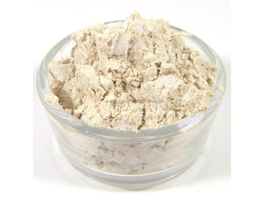 MICA - Biela s modrými odleskami 10 g